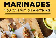 Recipes marinades