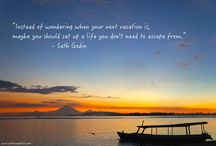 // Quotes // Travel Motivation / Quotes to ignite wanderlust.