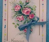 Post cards, real French Vintage