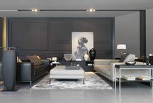 Living room / Living Rooms with beauty, design, inspiring athmosphere..