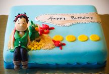 The birthday cakes