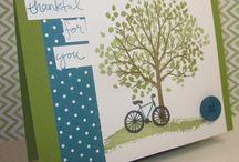 Bike/Tree Stamp