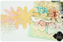 Heidi Swapp love / I love these ideas using Heidi Swapp products... I can't wait to get the new products in September~