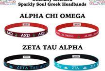 Sorority Style / Officially Licensed Greek Headbands