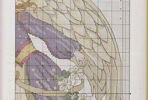 Kreuzstich Angel