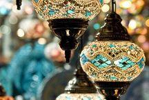 モロッコ風ランプ
