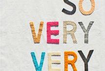 Words words words / by Amanda Reynés