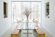 dining room / by Lisa Matulis-Thomajan