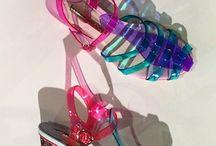 Chaussures d'été # plastique