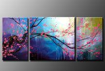Flower paintings / Flower paintings