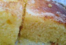 gâteau fleurs d'oranger