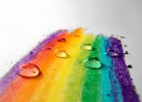 It was the rainbow gave thee birth, and left thee all her lovely hues. / by Doula Meraki