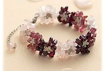 Gemstone chip jewellery
