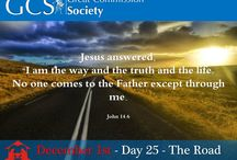 GCS 25 Day Christmas Countdown / A Bible verse for every day until Christmas