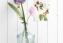 Inspiratie bloem en tafelstukken