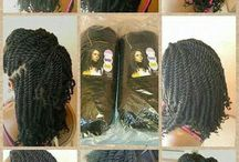 Afro twists