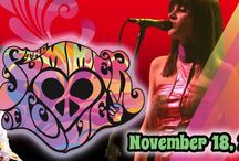 SUMMER OF LOVE at The Newton Theatre 11/18/2016 / Experience the Love, Relive the Memories, and Celebrate the Songs of the Woodstock generation! Featuring the music of The Beatles, The Rolling Stones, Janis Joplin, Jimi Hendrix, The Doors, Santana, Crosby, Stills, Nash & Young, Jefferson Airplane, The Beach Boys,The Mamas & The Papas and more, The Summer of Love Concert, led by Glen Burtnik (Styx, Beatlemania), features a full band and an awesome psychedelic light show, and most importantly the music that changed the world!
