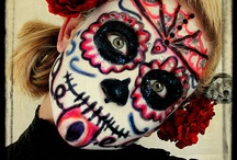 Day of the Dead / inspiration board for a project
