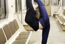 Ballet and body fitness / Amazing dancers and fitness