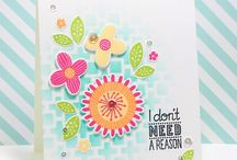 The Perfect Reason Stamp of Approval Collection Feb. 2017 / Projects made with the stamps, dies and stencil from The Perfect Reason Stamp of Approval Collection.  www.cpstampofapproval.com