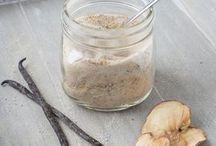 Aromatischer Zucker und Salz