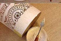 caixas com relevo