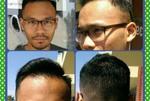 Our customers before and after pictures / Pictures of our customers before and after our hair services / by Salon Exclussif