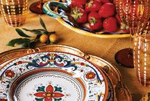 Italian dinnerware  / by Roxanne Sowers