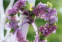 Decor - lilac flowers