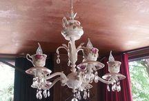 chandeliers art avize