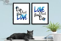 QUOTES PRINTS / Print quotes, Printable quotes, Home decor, Home print, home printable, wall art decor
