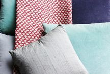 Colour Combos we love... / We love to mix up our fabrics, colours and patterns and different textures