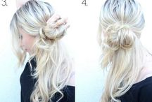 Easy hairstyles!! / Easy but cute hairstyles