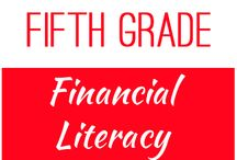 Fifth Grade: Financial Literacy / This board contains resources for Texas TEKS: 5.10A, 5.10B, 5.10C, 5.10D, 5.10E, 5.10F