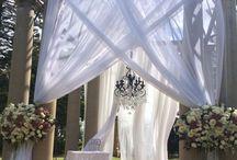 Chuppah/Bridal Archway Weddings of Pittsburgh / www.weddingsofpittsburgh.com