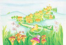 Murales Infantiles / Murales para niños
