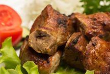 Горячее меню У Барашка / Друзья, к вашим услугам всегда горячее меню из мяса, овощей, ароматный лаваш и свежей зелени