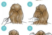 Short and Long Easy Hairstyle