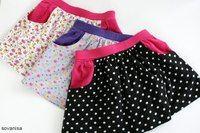 детская юбка из трикотажа