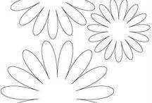 disegni fiori pannolenc