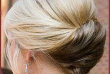 Hairstyles / French twist