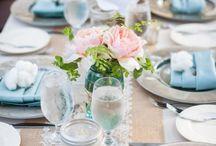 HOCHZEIT hellblau / Accessoires, Dekoration & Gastgeschenke zur Hochzeit in zarten Blautönen