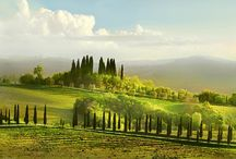 Hills Of Tuscany  / Countryside: travel inspiration (#Duchess Firenze # Places  #countryside  #Tuscany #Italy )