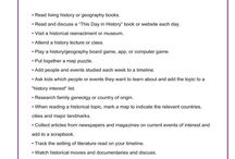 History/Geography for Homeschool / by Jimmie Lanley