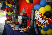 Superheroes Party