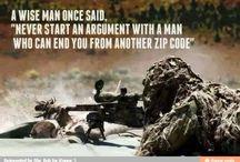 military humour