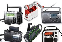 """Emergency Radios / Emergency Preparedness Radios - The industries Top """"Off The Grid"""" radios: Eton, Kaito & Midland are excellent survival tools in preparing for a major storm, tornado, hurricane, earthquake, or worse."""