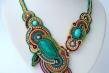 Sutasz - soutache NECKLACE