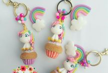 llaveros unicornio