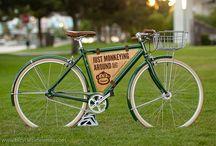 Ads on bike